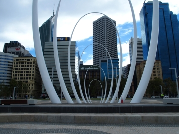 Perth Skyline thru Spanda