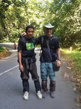 Iful and Gus w/leech socks