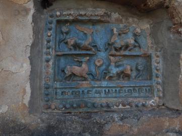 Tile from Mingalar Zedi