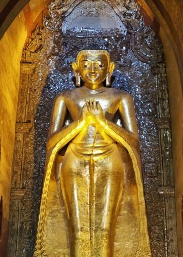 Distance View-Buddha Smiling