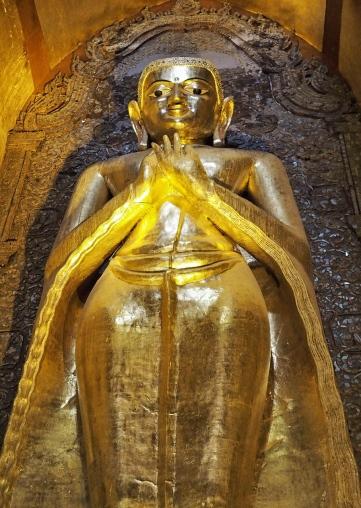 Close-up view-Buddha Frowning