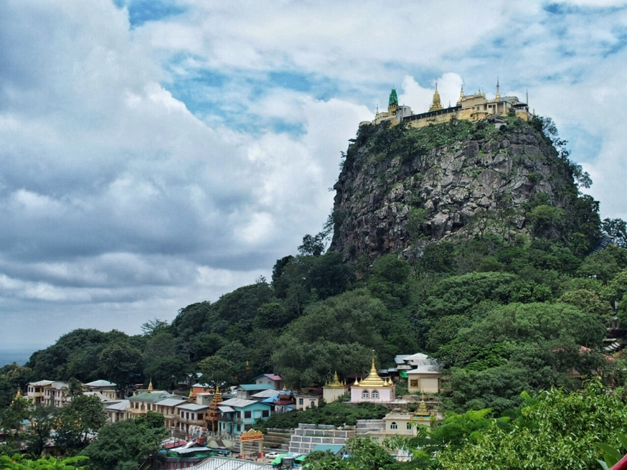 Mount Popa:  Of Nat Spirits and Monkey Poop