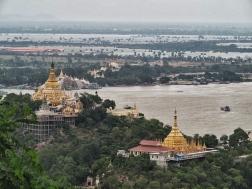 U Pone Nya Shin Pagoda view