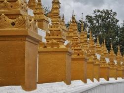 Pagoda at top of hill