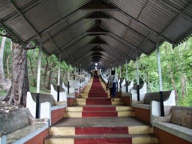 Stairway up Mandalay Hill