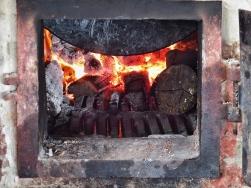 Maha Gandayon Monastery wood fired stove