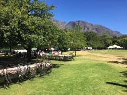 Picnic Grounds Boschendal Wine Estate
