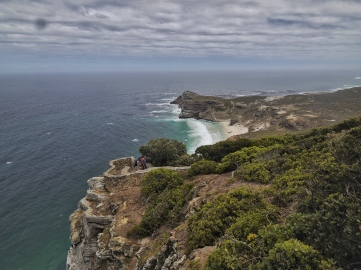 On Cape Point view of Cape Hope