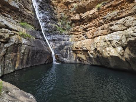 Meringspoort Waterfall