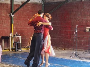 Tango Dancers San Telmo Weekend Market