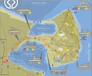 Península Valdés Mapa