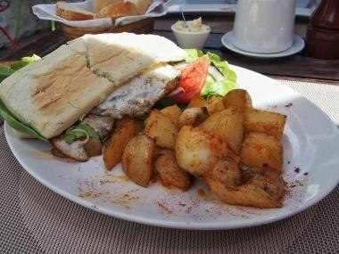 Uruguay's signature dish, the civito