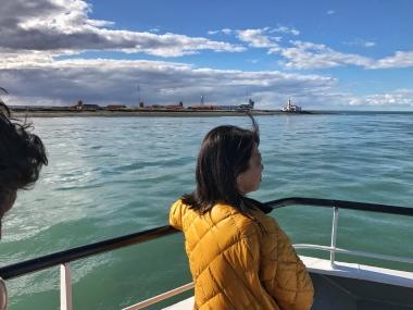 Crossing the Straits of Magellan