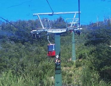 Gondola ride to Cerro Cathedral