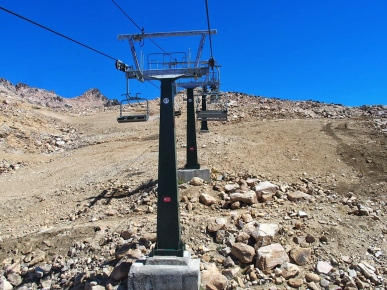 Chairlift to the top
